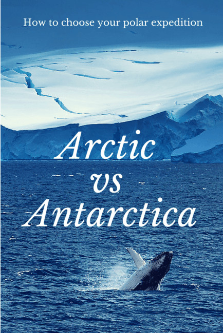 polar expedition arctic vs antarctica
