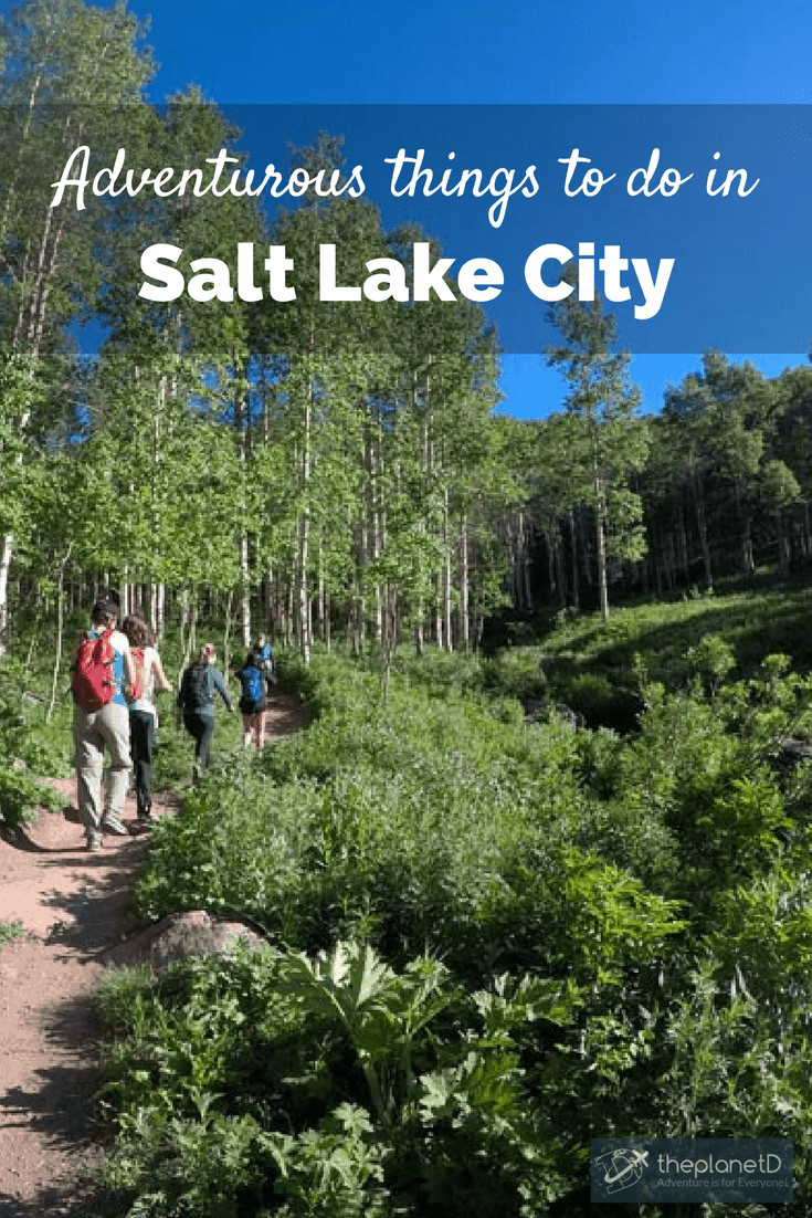 adventurous things to do in Salt Lake City