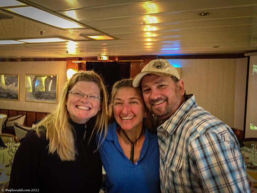Our second voyage with the amazing Val!