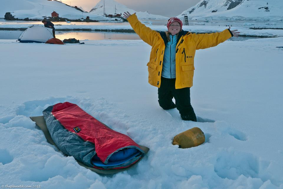 camping in anarctica