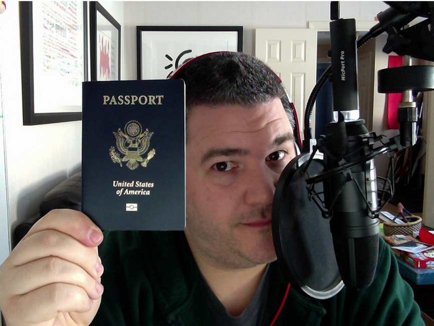 cc and his passport