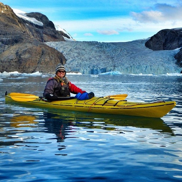 kayaking greenland