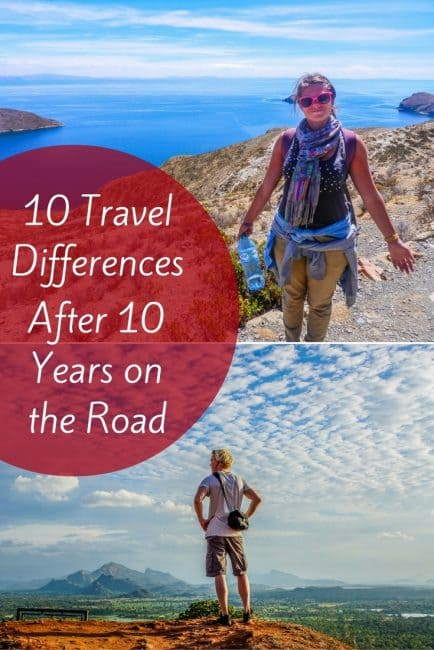 10 Travel Differences After 10 Years On The Road