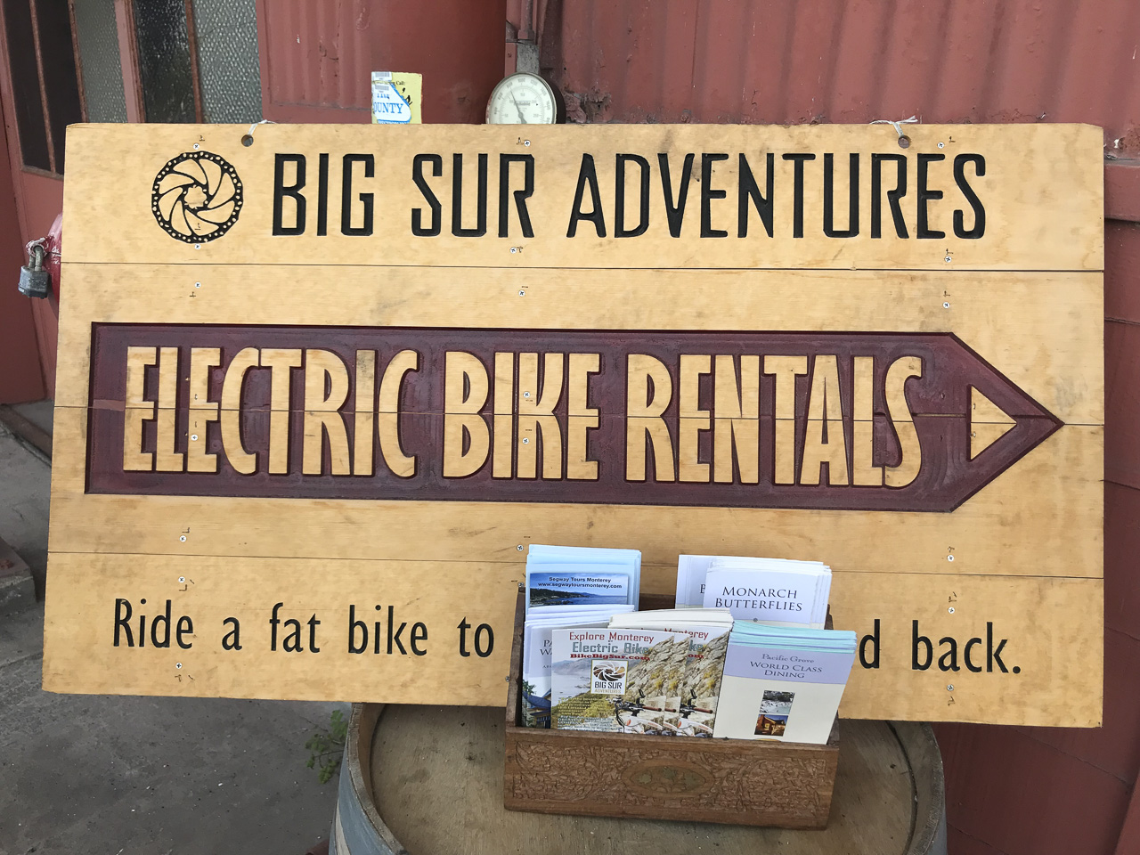 Big Sur Adventures ebikes
