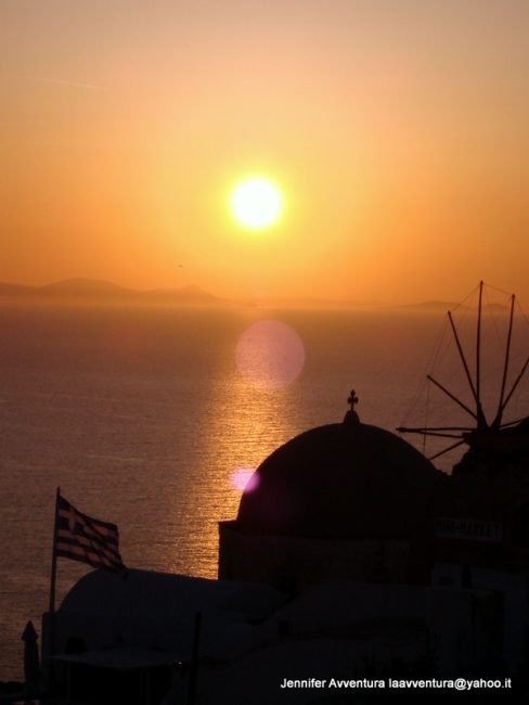 Grecian Sunset