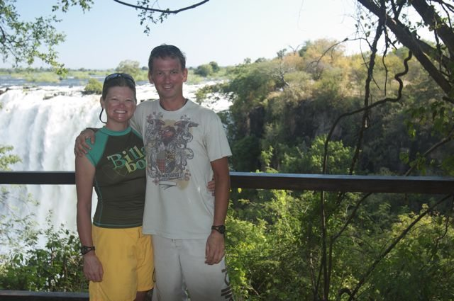 Canada's Adventure Couple @ Victoria Falls