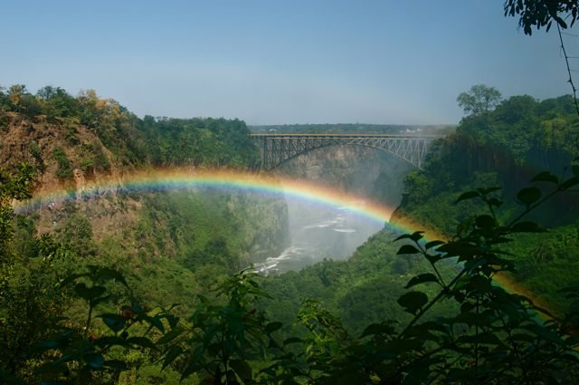 Bridge to Zimbabwe, Victoria Falls