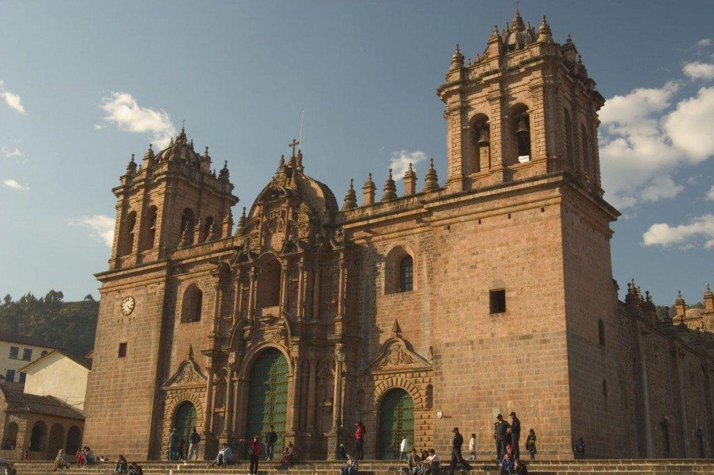Plaza Des Aramas in Cuzco Peru