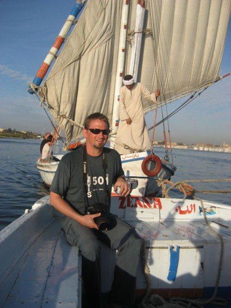 dave egypt felluca nile river