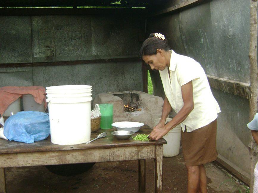Hard at Work volunteering in Nicaragua