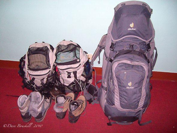 packing for everest base camp