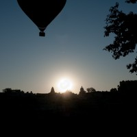 A sunrise Balloon ride