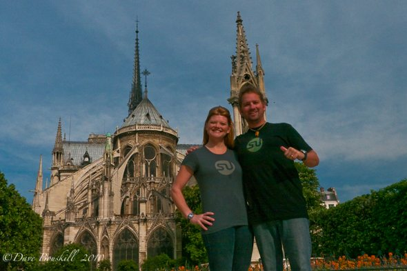 Dave and Deb StumbleUpon Sites in Paris!