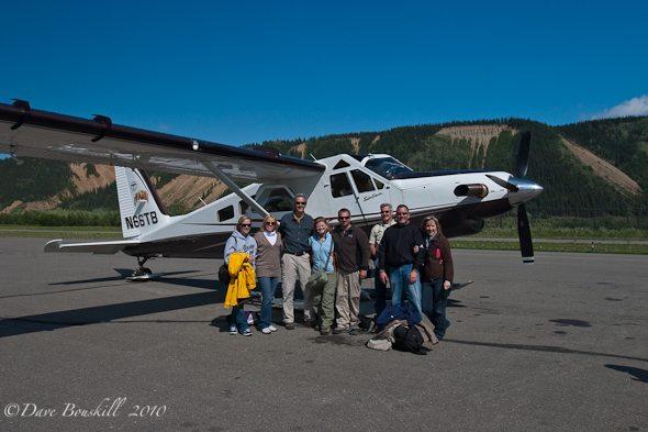 Alaska-Mount McKinley-Denali-De Havilland Beaver-Flying