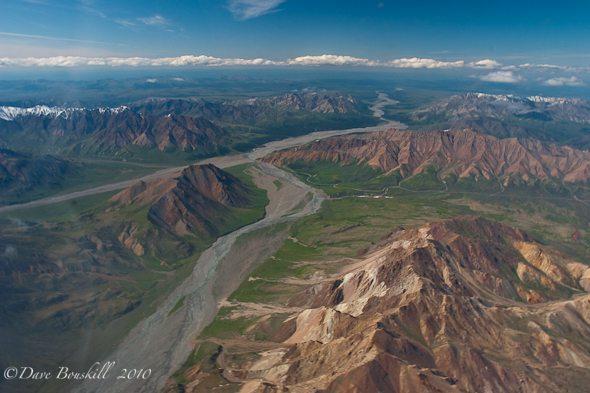 Alaska-Mount McKinley-Flying-Scenery