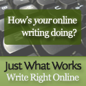 Just What Works - Wright Right Online - Affiliate Banner 125x125