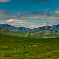 Mt. McKinley as seen from Denali National Park, Alaska