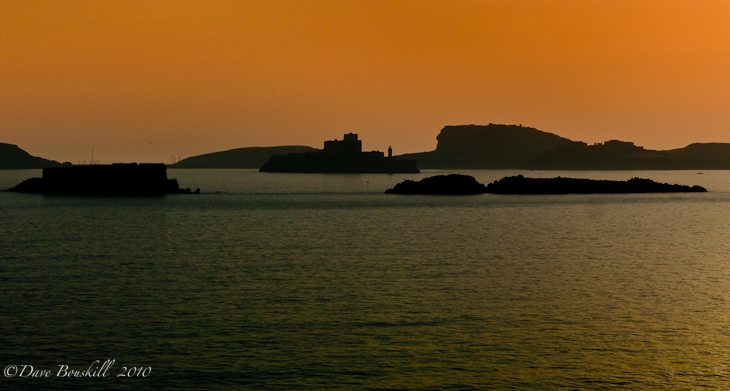 Chateau D'If of MArseilles, France sunset