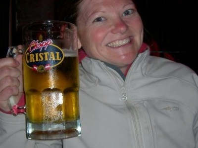 cristal beer in Lima Peru