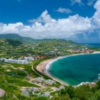 Limin on Reggae Beach in St. Kitts