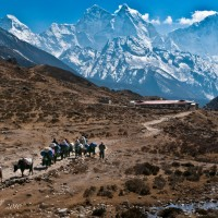 Himalayas in Everest Region Nepal