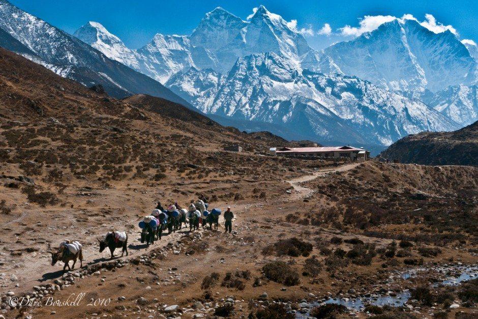 Himalayas in Everest Region Nepal