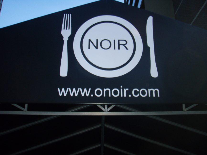 Restaurant O Noir Menu