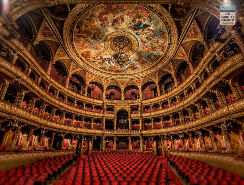 Budapest Theatre by Ken Kaminesky