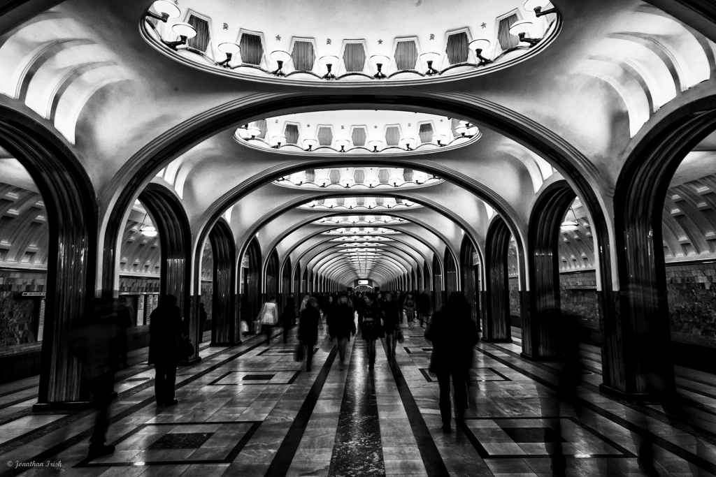 The magnificent moscow metro