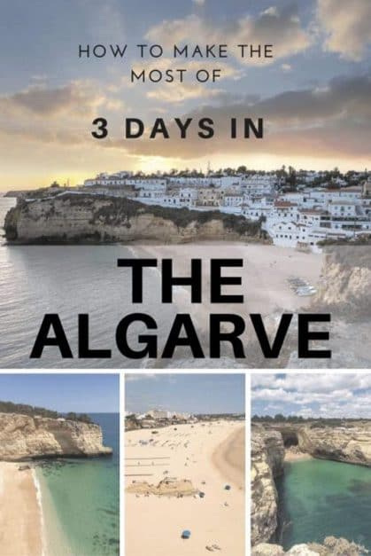 things to do in the Algarve in three days