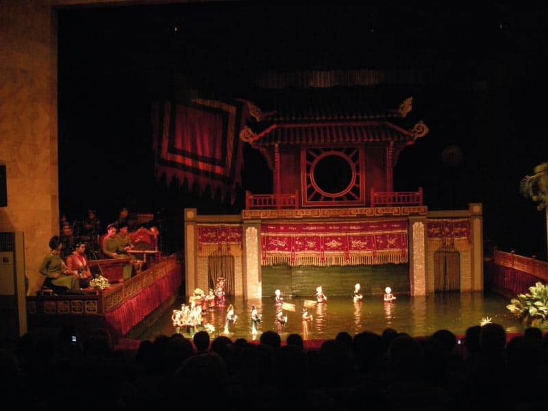 hanoi attractions puppet theatre