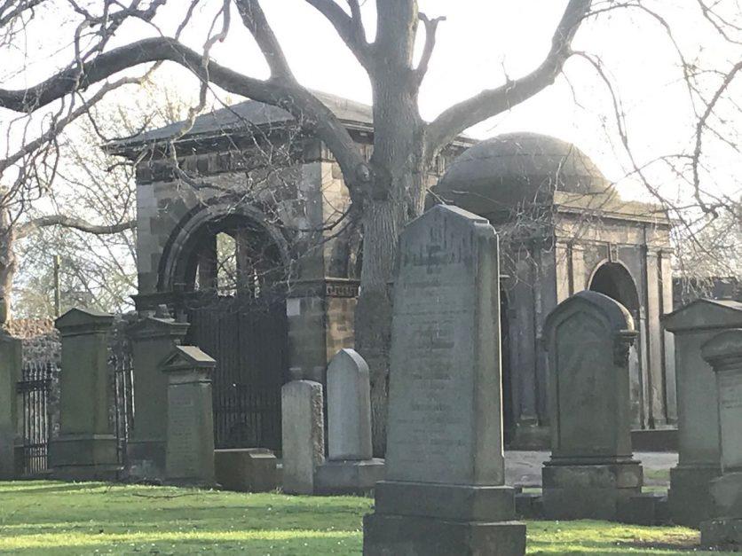 first time edinburgh | graveyard visit