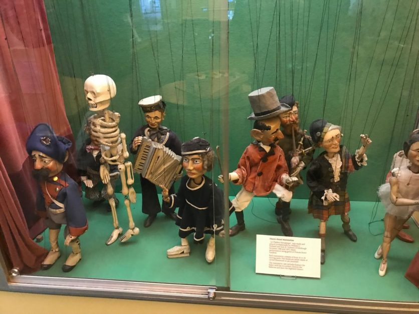 what to see in edinburgh | museum of childhood marionettes
