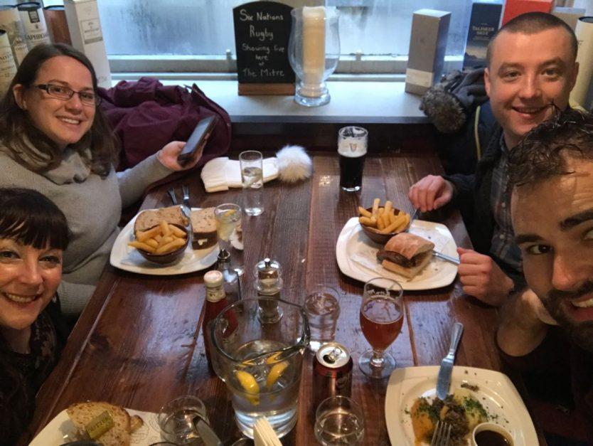 dinner at the royal mile edinburgh