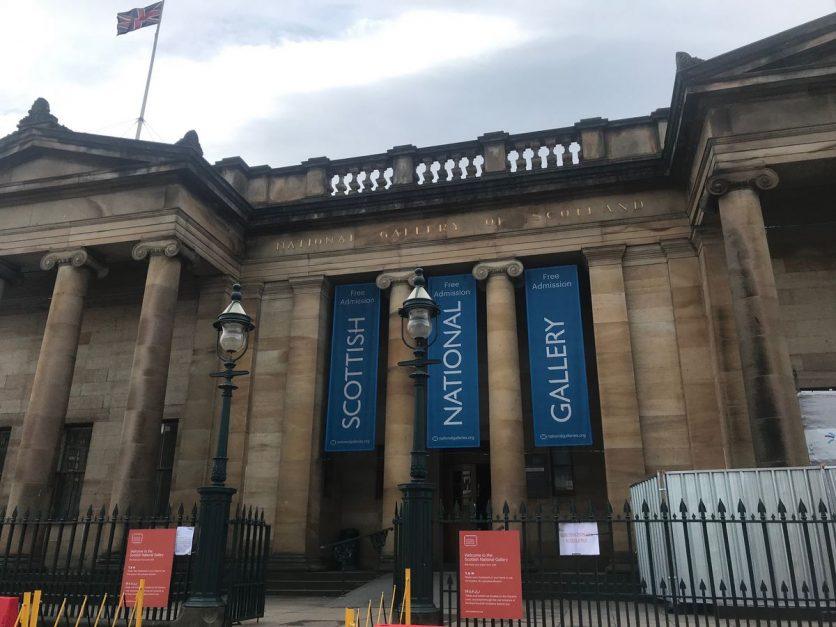 three days in edinburgh | national gallery
