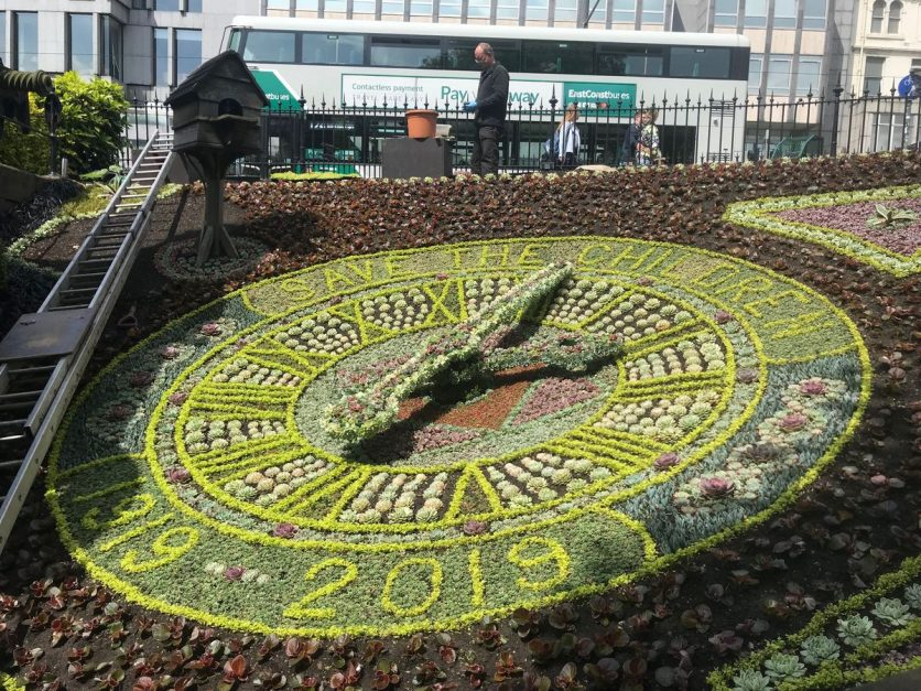 3 days edinburgh | floral clock
