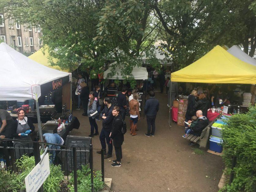 sunday market edinburgh
