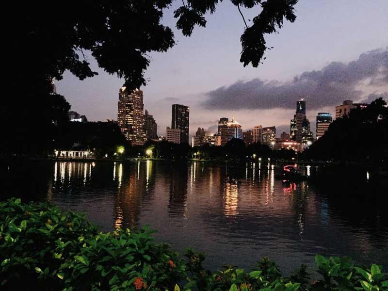 bangkok itinerary suggestoins | lumphini park