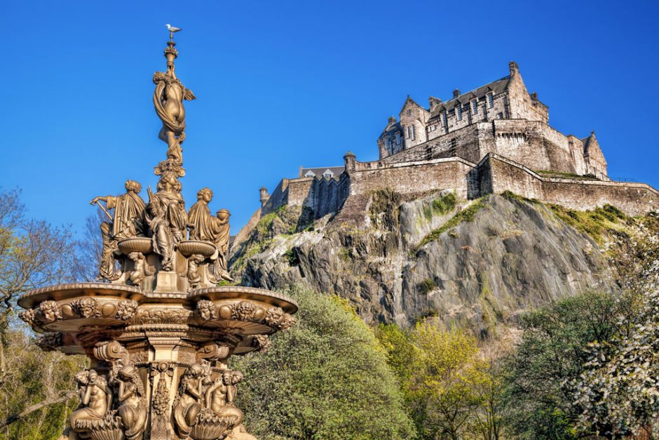 3 days in edinburgh itinerary | featured image
