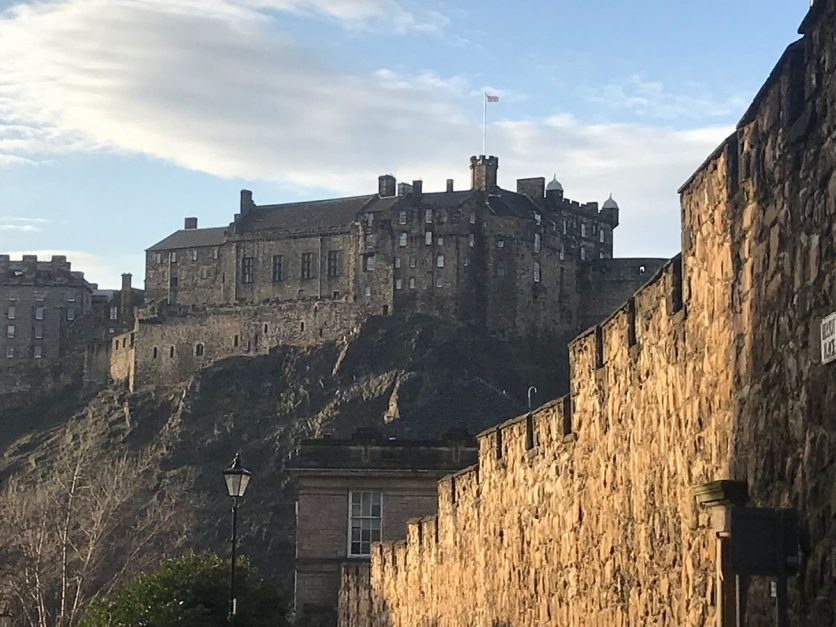 Scotland Edinburgh Castle
