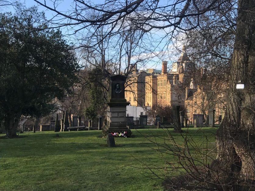 Churches and graveyards - Greyfriar's kirkyard Edinburgh uk