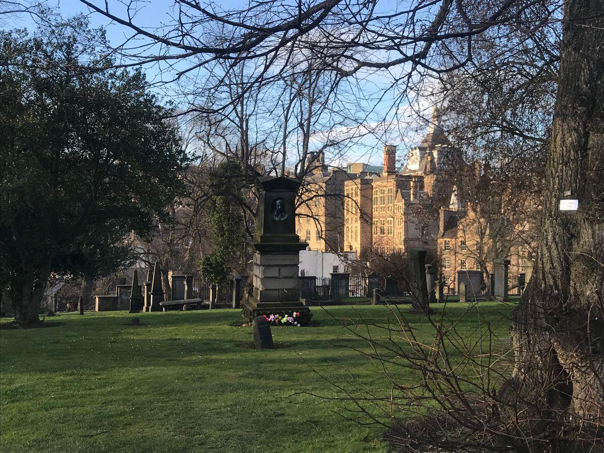 Greyfriar's graveyard Edinburgh Scotland