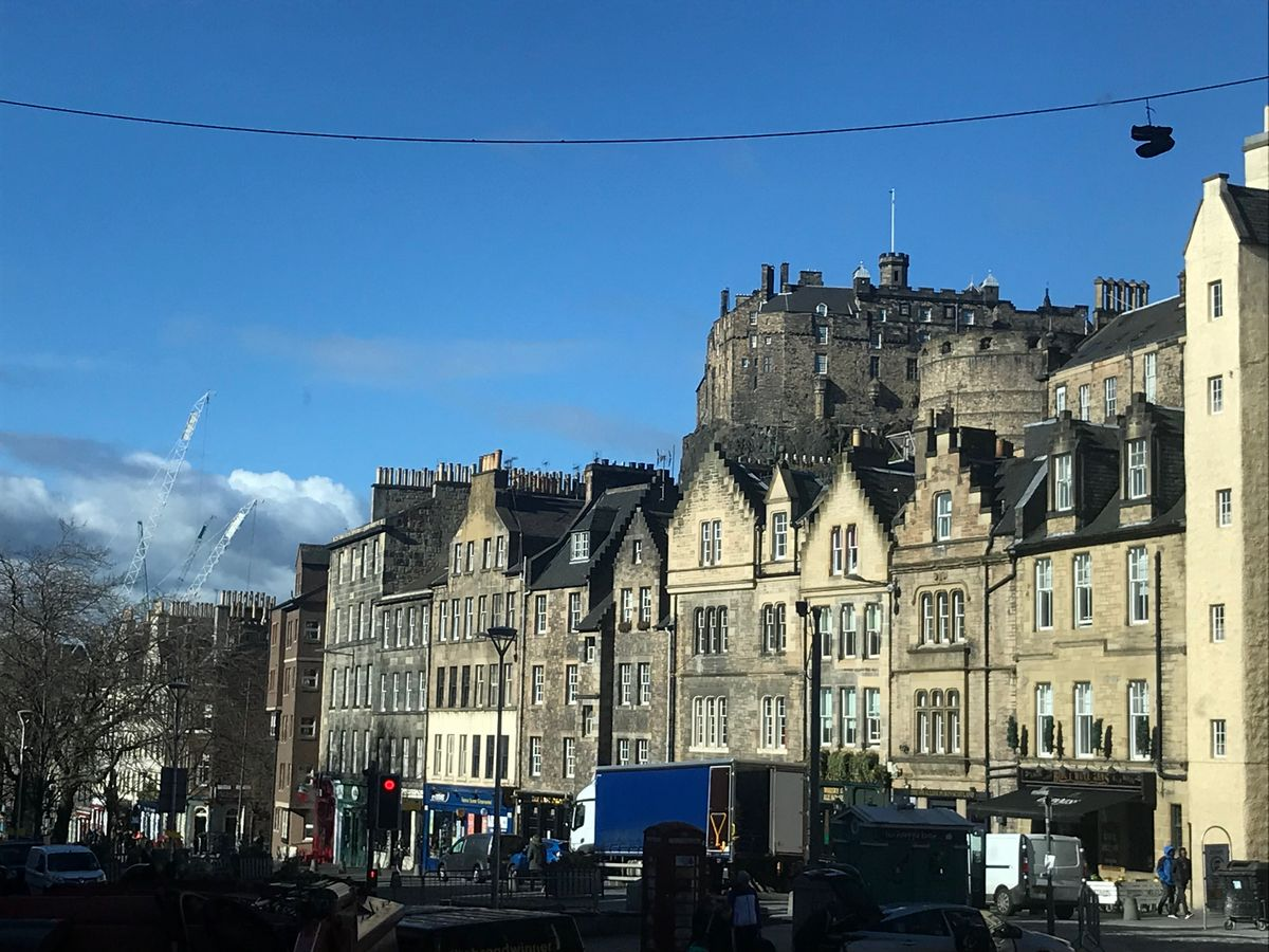 The Grassmarket is not to be missed in Edinburgh