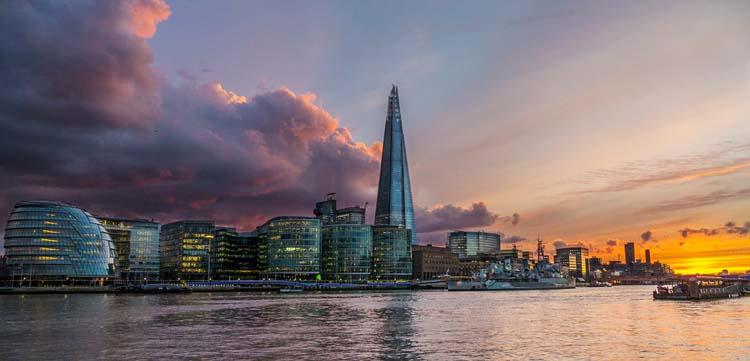 london itinerary view