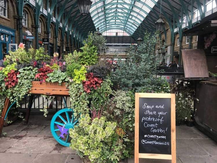 london itinerary day 2 | covent garden