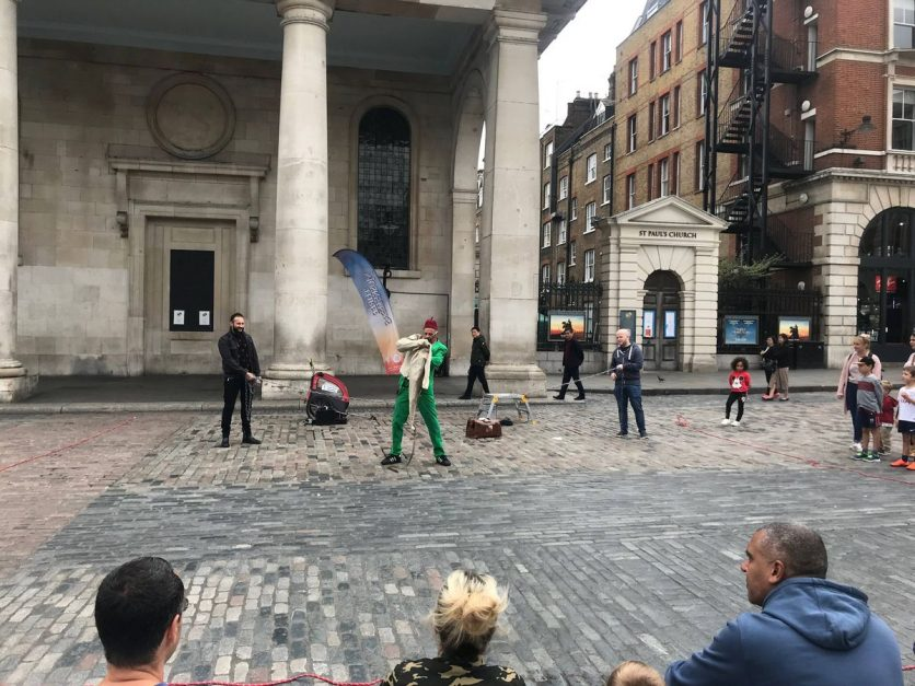 Street Performers 3 Days in London 3 day London itinerary England