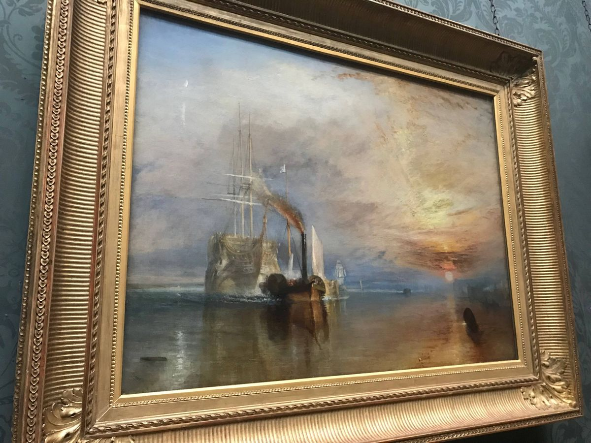 The Fighting Temeraire by Turner 3 Days in London 3 day London itinerary England