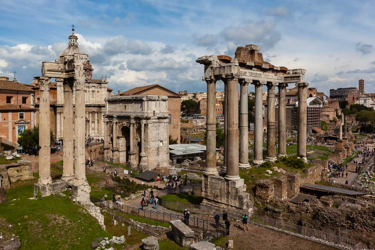 3 Days in Rome you can visit the Forum