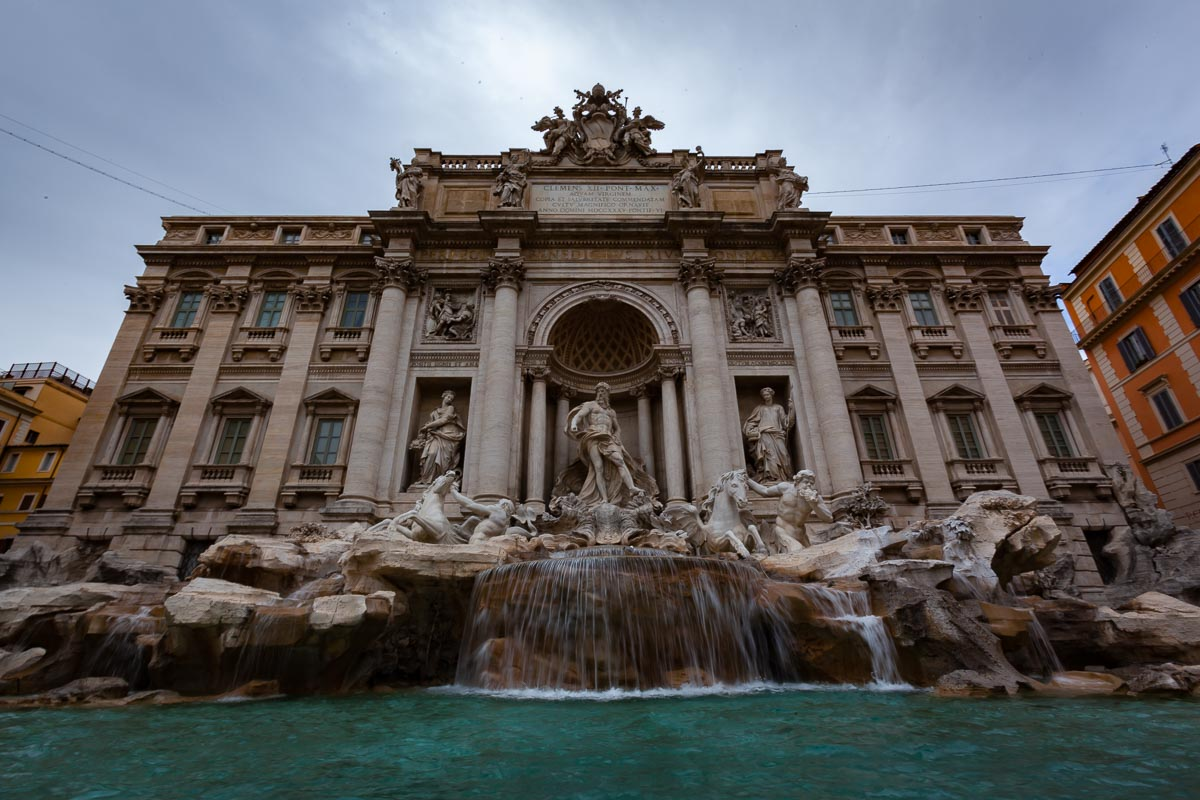 You can't visit Rome without the Trevi Fountain