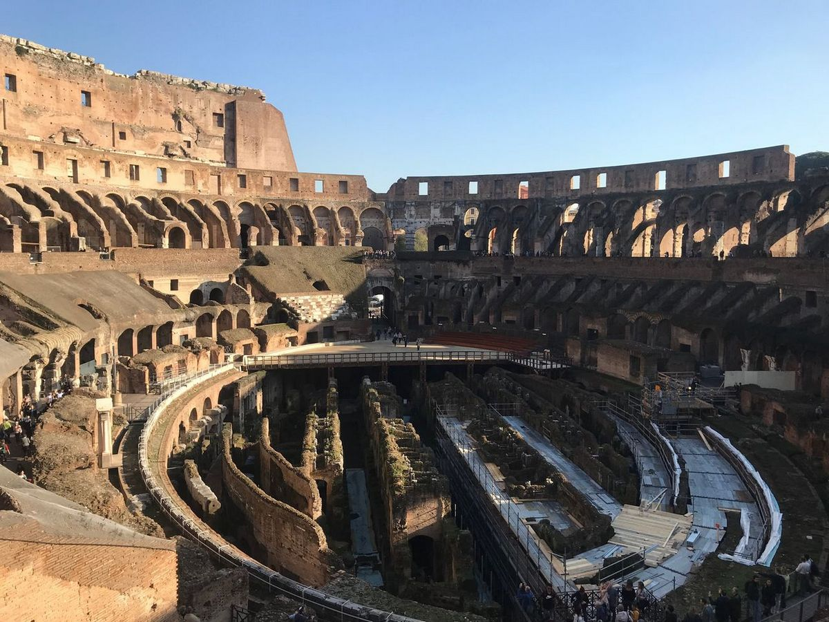 The Colosseum | rome itinerary